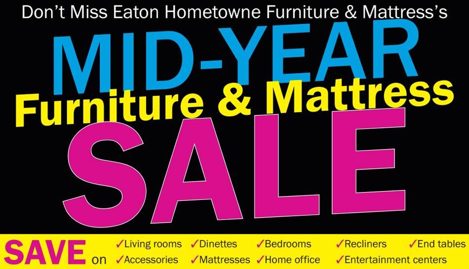Mid-Year Furniture & Mattress Sale