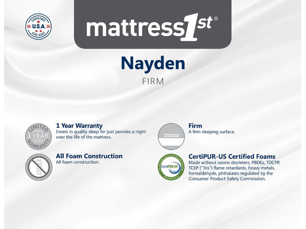 Nayden Firm Mattress