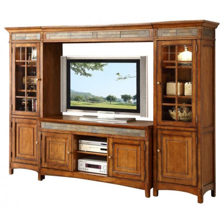 Craftsman Home Entertainment Wall