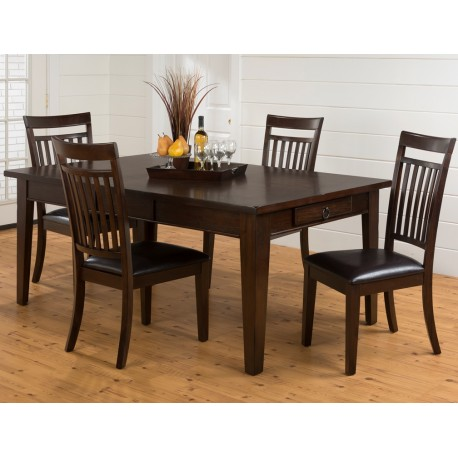 Legacy Oak 5pc. Table and Chair Set