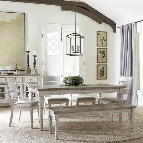 Heartland 6 Piece Rectangular Table Set