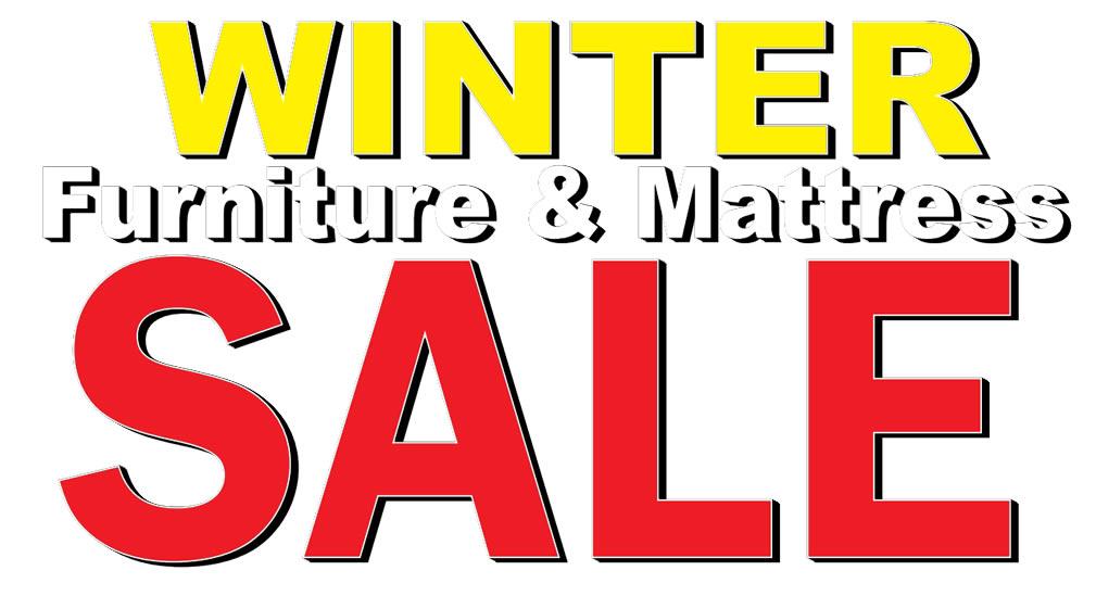 Winter Furniture & Mattress Sale