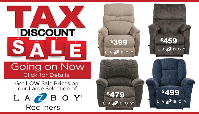 Tax Discount Sale
