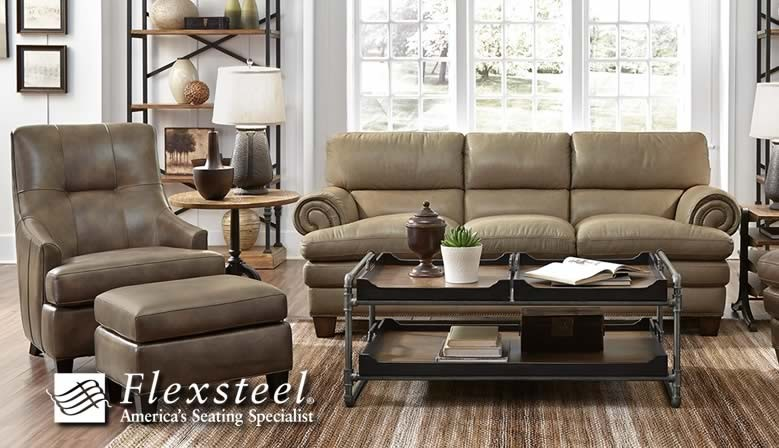 Shop the Flexsteel Home Studio Gallery at Eaton Hometowne Furniture.