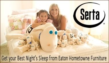 Shop Eaton Hometowne Furniture for the perfect sleep solution at the best prices.